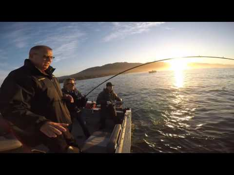 Salmon Fishing Tillamook bay and Ocean October 4, 2015