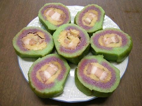 Thiên đường ẩm thực - Bánh Tét - Vietnamese Cylindrical Sticky Rice Cake