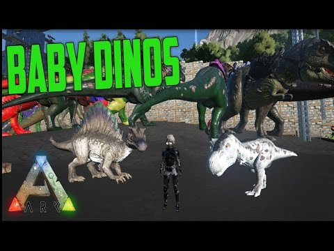 COMO CHOCAR OVOS (TUTORIAL BÁSICO) BABy DINOS - ARK SURVIVAL EVOLVED - UPDADE 219
