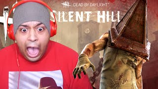 PYRAMID HEAD IS NOT PLAYING!! [DEAD BY DAYLIGHT] [SILENT HILL DLC]