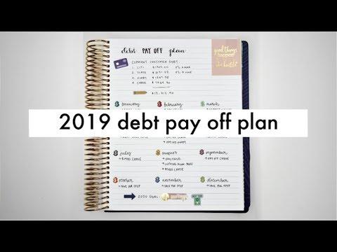 2019 Debt Snowball Pay Off Plan