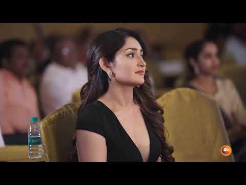 Actress Sayyeshaa, Aishwarya Rajesh At 12th Edison Awards 2019