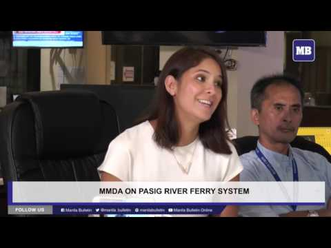 MB HotSeat: MMDA on Pasig River Ferry system