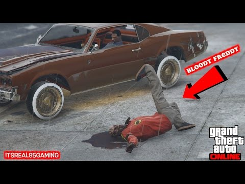 HONORABLE CNOTE VS. ITSREAL85! (Bloody Freddy GTA 5 deathmatch!)@honoroableCnote @itsreal85