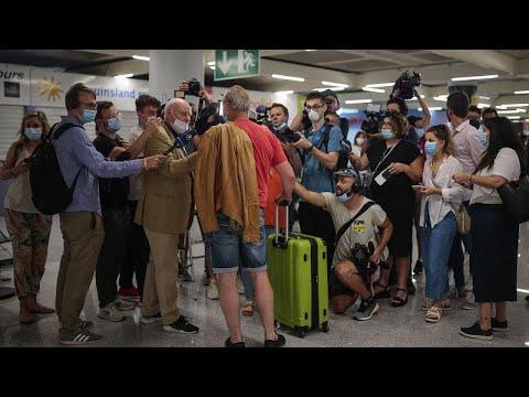 el-gran-test-del-turismo-en-españa:-llegan-los-primeros-veraneantes-alemanes-a-mallorca