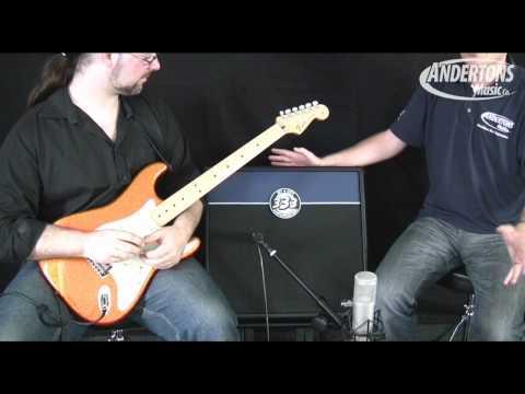 Jet City JCA100H And JCA2112RC Soldano Designed Guitar Amp Demo Part 2