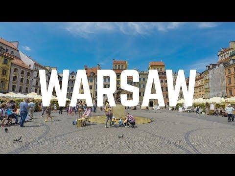 Warsaw Travel Vlog: One Day in Warszawa