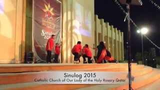 M2CD celebrates Sinulog 2015 in Qatar