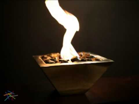 Anywhere Fireplace Empire Table Top Indoor/Outdoor Fireplace - Product Review Video