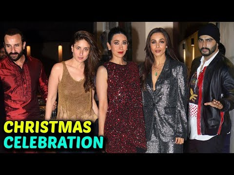 Arjun Malaika, Salman Iulia, Kareena Saif At Anu Dewan Christmas Party 2018 | FULL EVENT