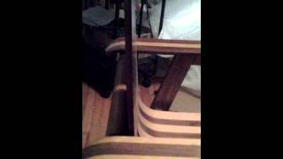 Bent Plywood Surfboard Chair