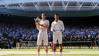 Wimbledon: Novak Djokovic talks to media after Wimbledon 2013 Final def