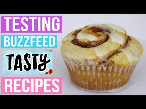 TASTY BUZZFEED RECIPES TESTED #1