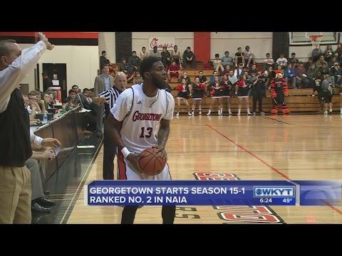 Georgetown College starts season 15-1, ranked #2 in NAIA