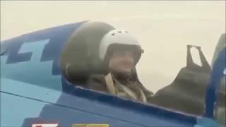 Полет Порошенко на МиГ 29 без монтажа