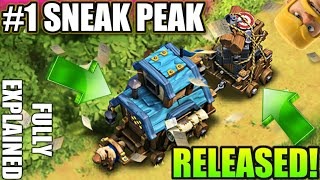 #SNEAK PEAK 1 RELEASED THE CLAN GAMES😕WINTER UPDATE CLASH OF CLANS•Future T18