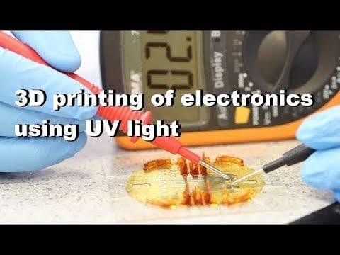 0 - Neue Methode für 3D-Druck von voll funktionsfähigen Elektronikschaltungen