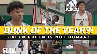 Jalen Green DUNK OF THE YEAR!? 😱 Prolific Prep is STACKED! 😈