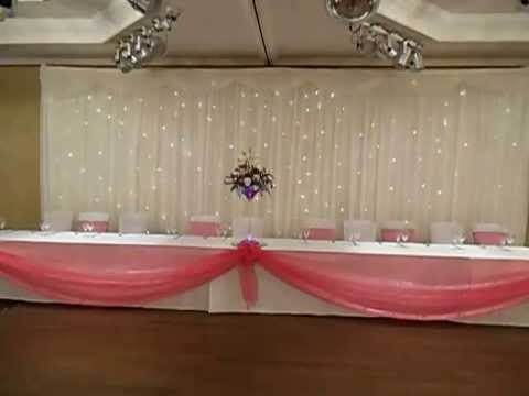 wedding chair covers or not irish pub chairs starlight backdrop / twinkle fairy light curtain - youtube