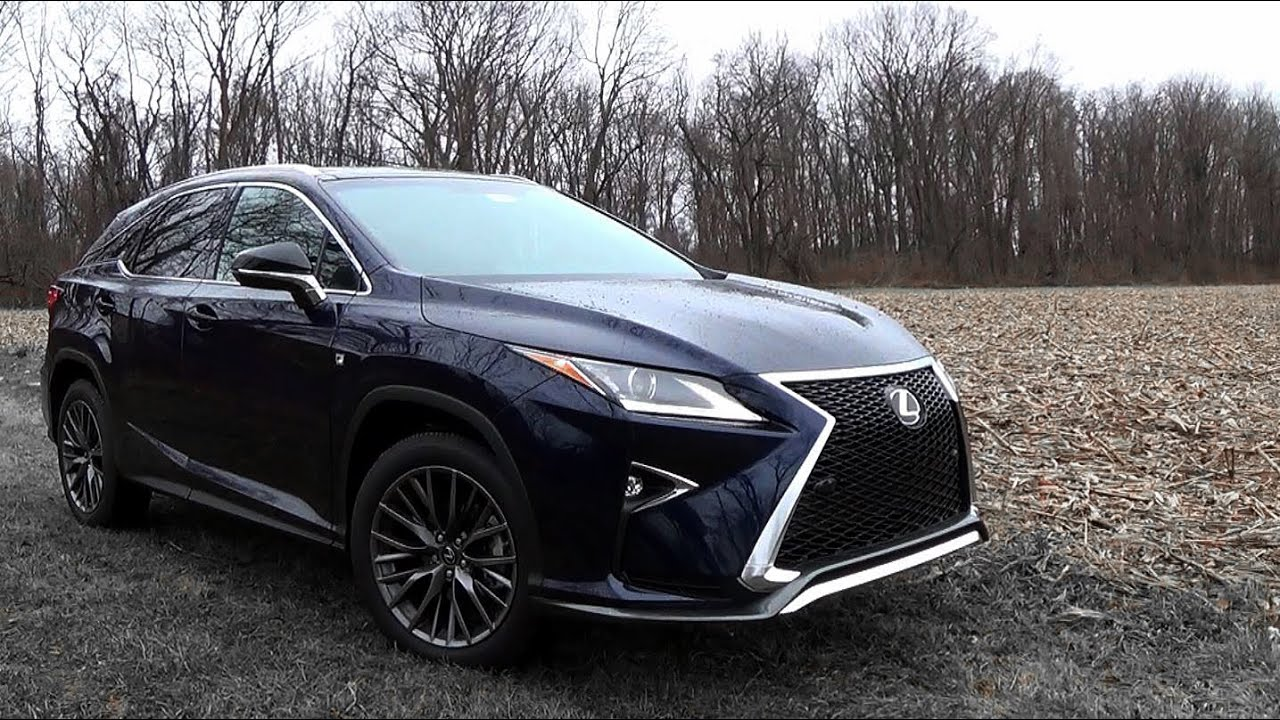 2016 Lexus RX350 F Sport: Review   YouTube