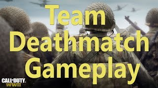 Call Of Duty: WWII Multiplayer - Team  Deathmatch Gameplay