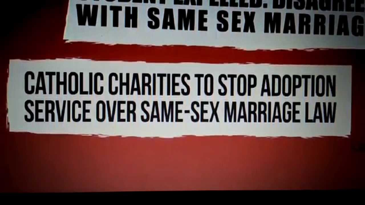 legalization of same sex marriage