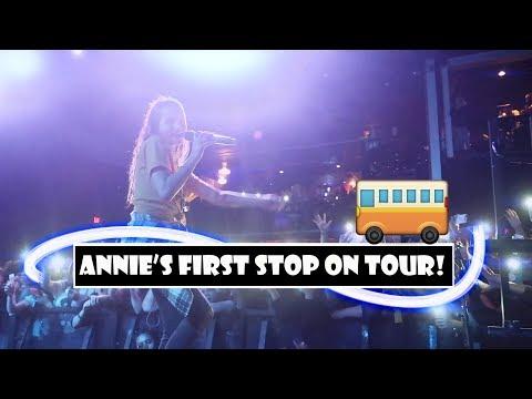 Annie's First Stop On Tour 🚌 (WK 368.7)   Bratayley