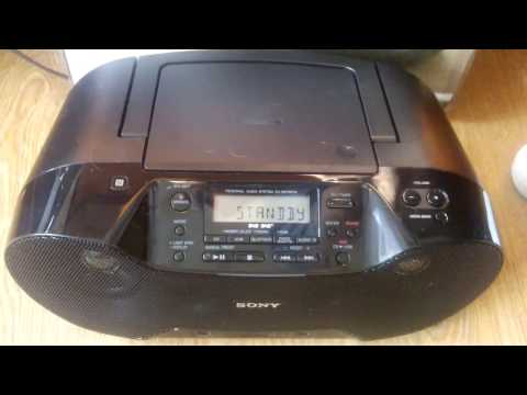 Testing | Sony ZS-RS70BTB | DAB Radio/CD Player |Boombox (Bluetooth/Wireless) |  With NFC