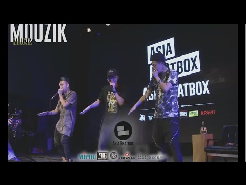 1st Asia Beatbox Championship - Elimination to Champion - Live Stream Timestamp