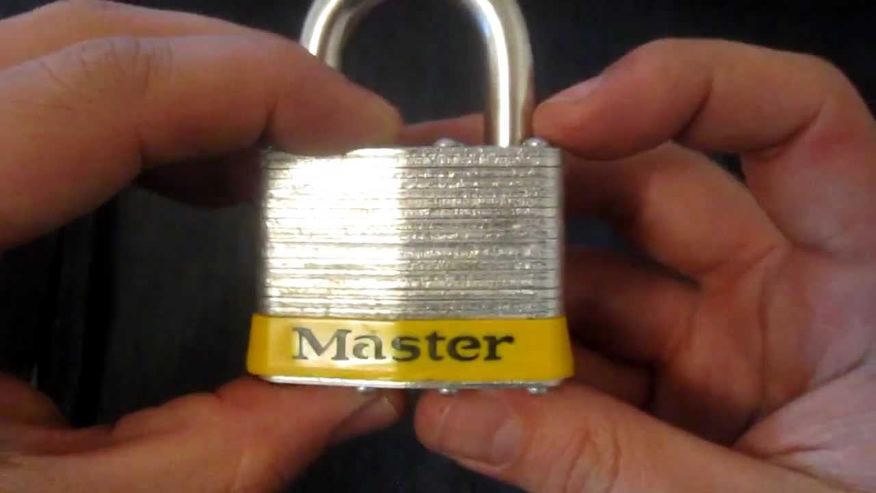 Master No 5 Lock Picked Youtube