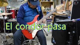 화원전통시장 기타리스트…