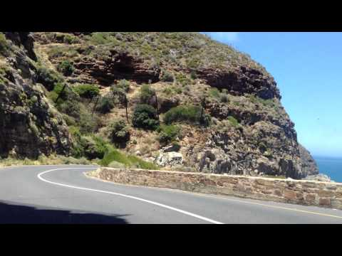 Famous Chapmans Peak Scenic Drive- South Africa 2015