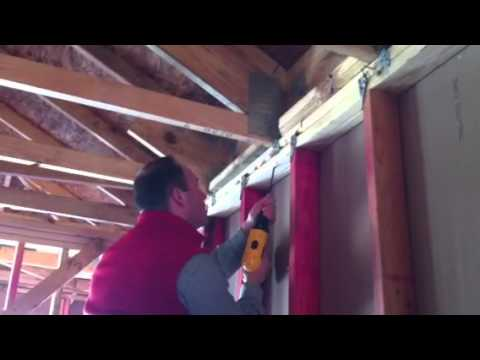 """Timberlok 6"""" installation guide for rafter/truss to top plate."""