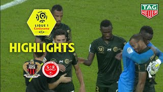 OGC Nice - Stade de Reims ( 0-1 ) - Highlights - (OGCN - REIMS) / 2018-19