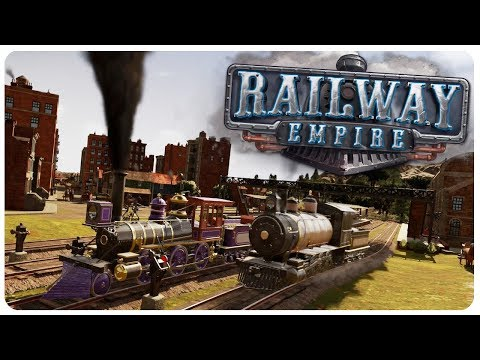 BUILDING the BIGGEST 19th century RAILROAD TYCOON! - Railway Empire Gameplay