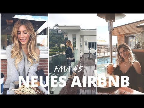 FMA LA #5 | Airbnb Roomtour und Preise, bester Ausblick in LA in den Hills