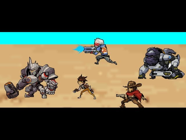 Overwatch sprites animation