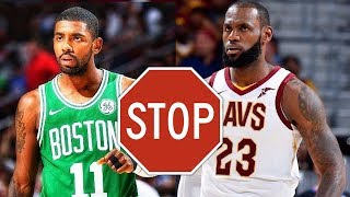 Lebron James isn't Worried about the Celtics & he shouldn't be
