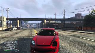 GTA 5 (Grand Theft Auto V) Online PS4 test with Avermedia Live Gamer HD
