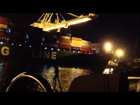 China Shipping Line at the Port of Oakland