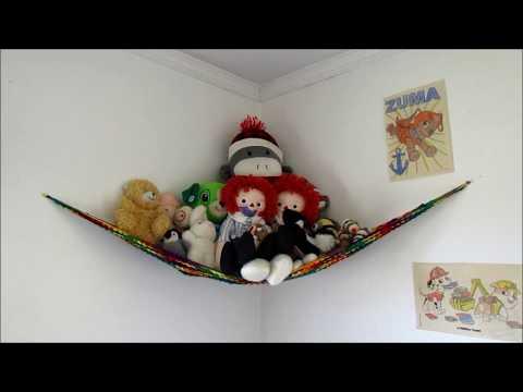 NEW Purples Stuffed animal teddy bear TOY HAMMOCK Net | #103503379 | 360x480
