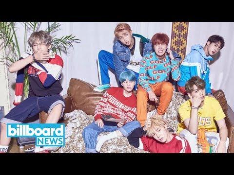 BTS' 'Love Yourself: Her' Debuts in Top 10 of Billboard 200 | Billboard News