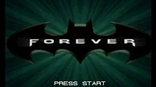 Batman Forever SNES Gameplay Super Nintendo