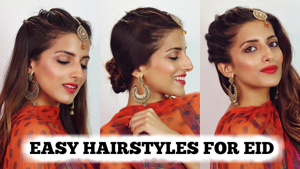 quick short hair styles 2 min easy indian hairstyles for 2018 eid special 3229 | maxresdefault