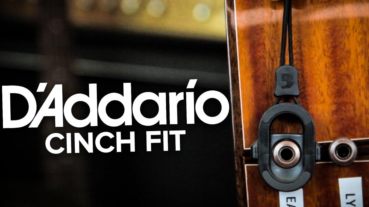D/'Addario CinchFit Acoustic Jack Lock