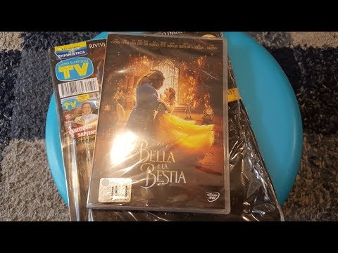 Unboxing Review: TV sorrisi e canzoni DVD La Bella e la Bestia Disney