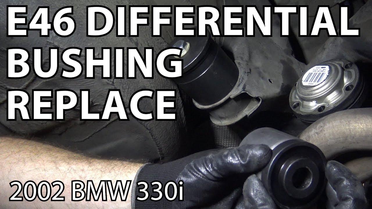 Bmw E46 Subframe Bushing Replacement Youtube