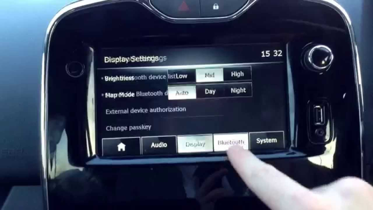how to set up bluetooth in a renault clio or captur youtube. Black Bedroom Furniture Sets. Home Design Ideas