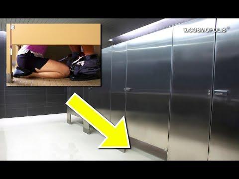 La raz n por que las puertas de los ba os p blicos no - Puertas para el bano ...