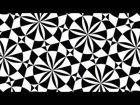 Design patterns | Geometric patterns | Black and White | Adobe illustrator tutorials | 011 thumbnail